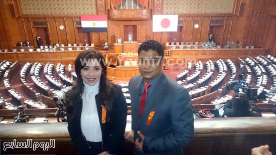 البرلمان اليابانى يستعد لكلمة السيسى (11)