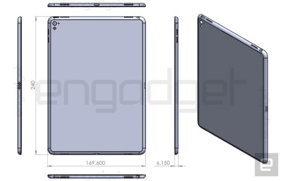 صور مسربة تظهر تصميم جهاز iPad Air 3