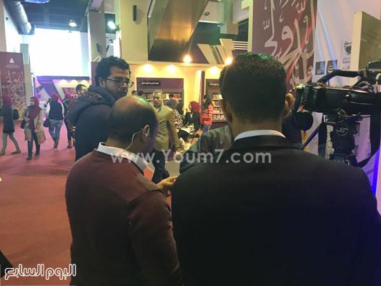 البحرين تستقبل زوار معرض الكتاب (3)