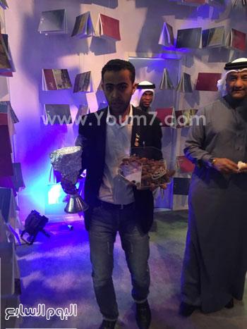 البحرين تستقبل زوار معرض الكتاب (5)