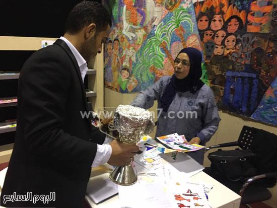 البحرين تستقبل زوار معرض الكتاب (13)