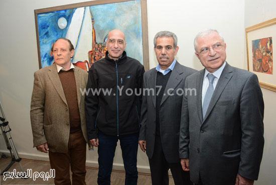 السفير-اللبناني-وابراهيم-بيكاسو-وخالد-سرور