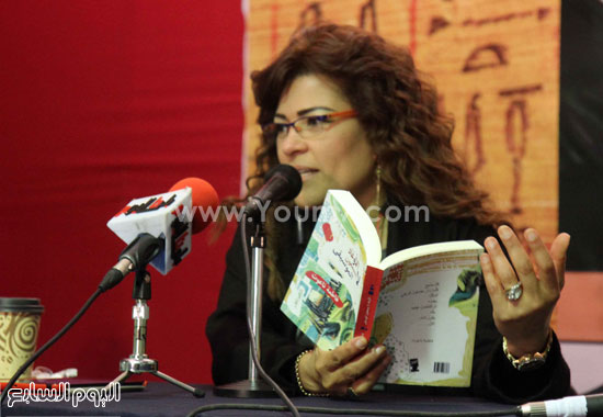 فاطمة ناعوت، معرض الكتاب، المقهى الثقافى (11)