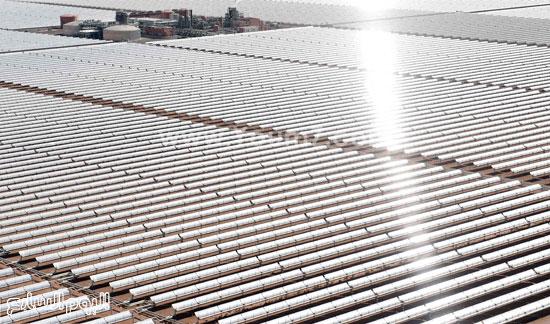 المغرب يدشن المرحلة الأولى لأكبر مشروع لأنتاج الطاقة الشمسية (1)