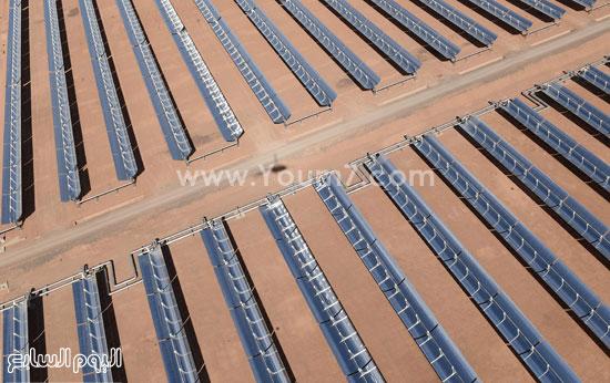 المغرب يدشن المرحلة الأولى لأكبر مشروع لأنتاج الطاقة الشمسية (2)