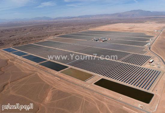 المغرب يدشن المرحلة الأولى لأكبر مشروع لأنتاج الطاقة الشمسية (3)