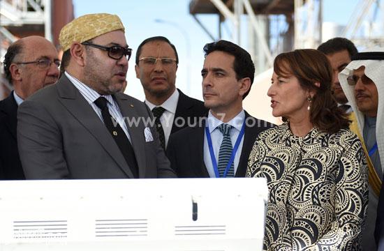 المغرب يدشن المرحلة الأولى لأكبر مشروع لأنتاج الطاقة الشمسية (6)