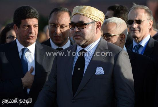 المغرب يدشن المرحلة الأولى لأكبر مشروع لأنتاج الطاقة الشمسية (8)
