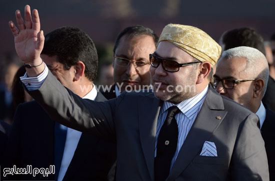 المغرب يدشن المرحلة الأولى لأكبر مشروع لأنتاج الطاقة الشمسية (9)