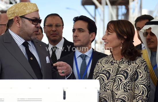 المغرب يدشن المرحلة الأولى لأكبر مشروع لأنتاج الطاقة الشمسية (11)