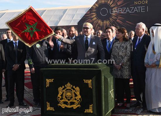 المغرب يدشن المرحلة الأولى لأكبر مشروع لأنتاج الطاقة الشمسية (12)