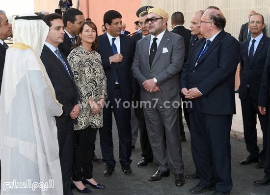 المغرب يدشن المرحلة الأولى لأكبر مشروع لأنتاج الطاقة الشمسية (15)