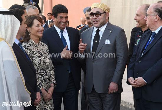 المغرب يدشن المرحلة الأولى لأكبر مشروع لأنتاج الطاقة الشمسية (16)