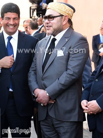 المغرب يدشن المرحلة الأولى لأكبر مشروع لأنتاج الطاقة الشمسية (17)