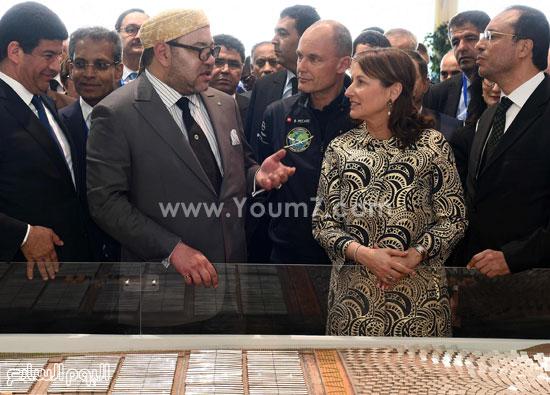 المغرب يدشن المرحلة الأولى لأكبر مشروع لأنتاج الطاقة الشمسية (18)