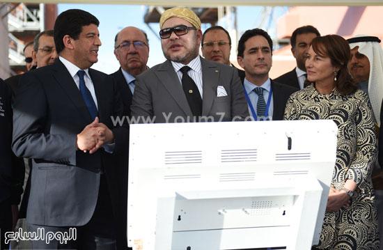 المغرب يدشن المرحلة الأولى لأكبر مشروع لأنتاج الطاقة الشمسية (19)