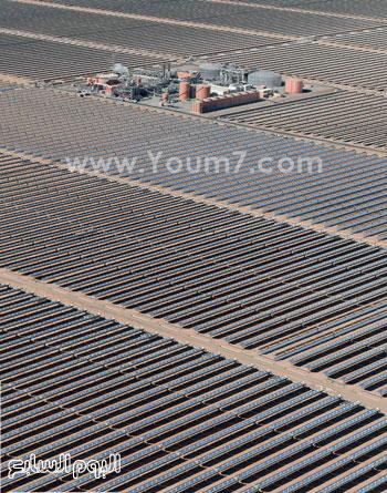 المغرب يدشن المرحلة الأولى لأكبر مشروع لأنتاج الطاقة الشمسية (21)