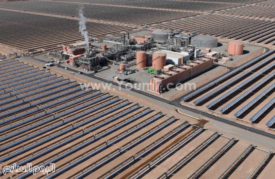 المغرب يدشن المرحلة الأولى لأكبر مشروع لأنتاج الطاقة الشمسية (23)