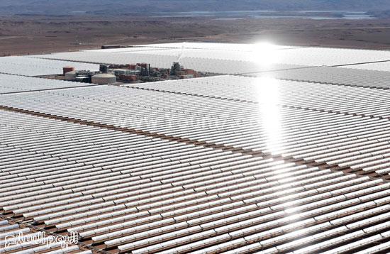 المغرب يدشن المرحلة الأولى لأكبر مشروع لأنتاج الطاقة الشمسية (25)