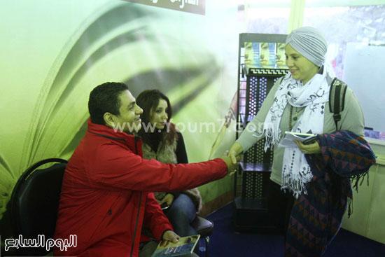 محمد صلاح العزب ، ستديو ريهام للتصوير ، معرض الكتاب ، اخبار الثقافة (3)