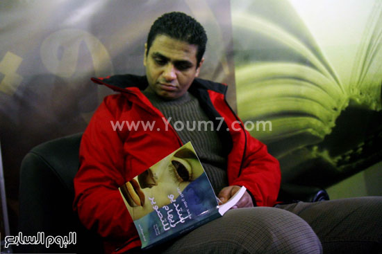 محمد صلاح العزب ، ستديو ريهام للتصوير ، معرض الكتاب ، اخبار الثقافة (5)