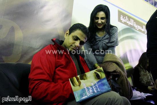 محمد صلاح العزب ، ستديو ريهام للتصوير ، معرض الكتاب ، اخبار الثقافة (6)
