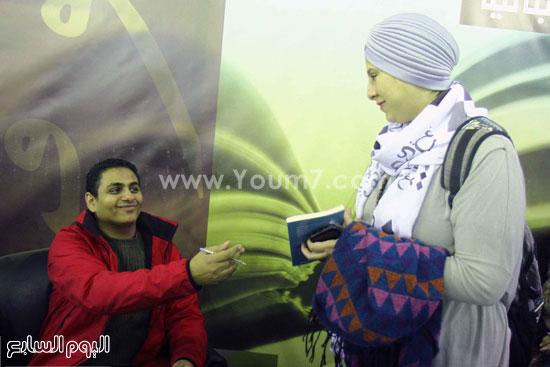 محمد صلاح العزب ، ستديو ريهام للتصوير ، معرض الكتاب ، اخبار الثقافة (8)