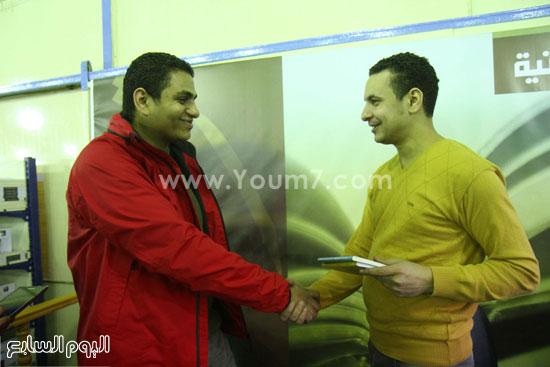 محمد صلاح العزب ، ستديو ريهام للتصوير ، معرض الكتاب ، اخبار الثقافة (9)