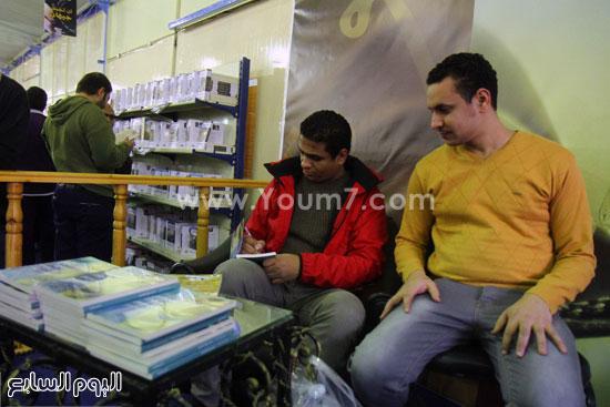 محمد صلاح العزب ، ستديو ريهام للتصوير ، معرض الكتاب ، اخبار الثقافة (10)