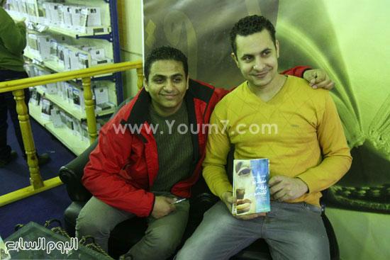 محمد صلاح العزب ، ستديو ريهام للتصوير ، معرض الكتاب ، اخبار الثقافة (11)