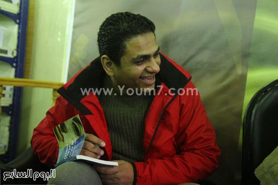محمد صلاح العزب ، ستديو ريهام للتصوير ، معرض الكتاب ، اخبار الثقافة (13)