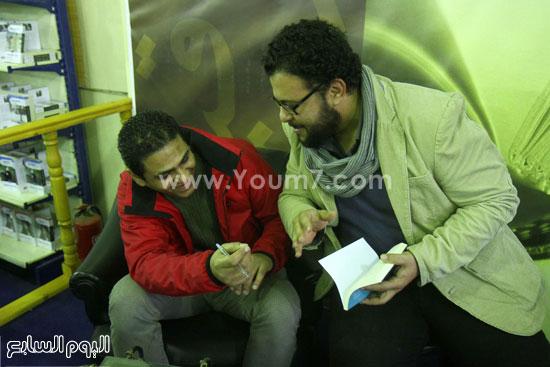 محمد صلاح العزب ، ستديو ريهام للتصوير ، معرض الكتاب ، اخبار الثقافة (16)