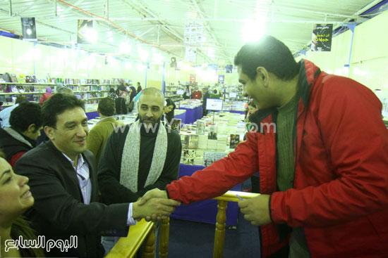 محمد صلاح العزب ، ستديو ريهام للتصوير ، معرض الكتاب ، اخبار الثقافة (17)