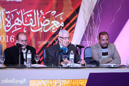 ندوة تجربة الغيطانى الصحفية (5)