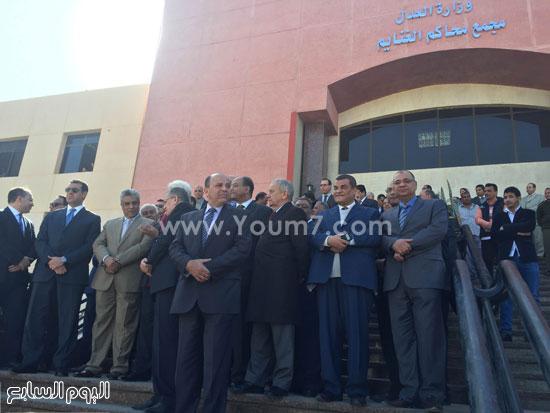 الزند يفتتح مجمع محاكم الغنايم (1)