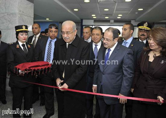 وزارة الداخلية مستشفى الشرطة  اخبار مصر شريف اسماعيل رئيس الوزراء (1)