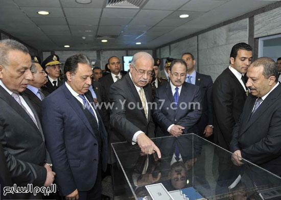 وزارة الداخلية مستشفى الشرطة  اخبار مصر شريف اسماعيل رئيس الوزراء (2)