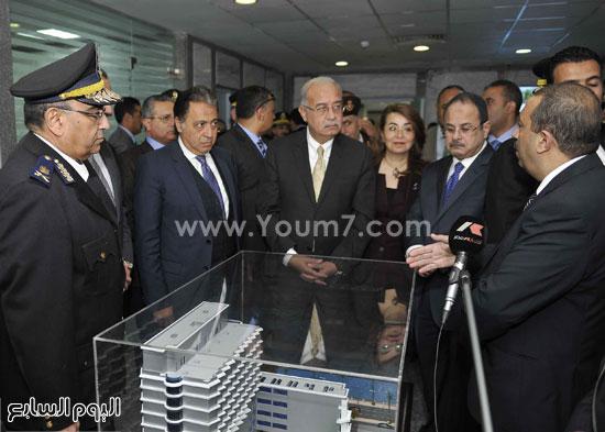 وزارة الداخلية مستشفى الشرطة  اخبار مصر شريف اسماعيل رئيس الوزراء (3)