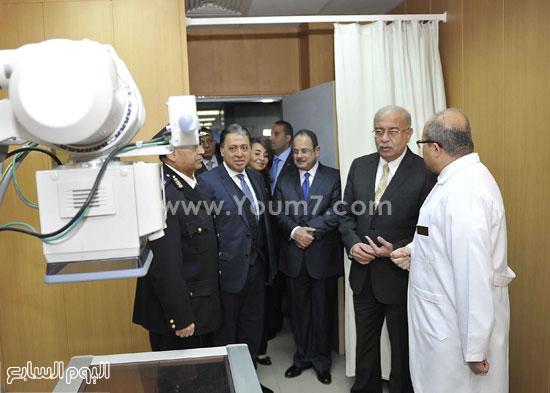 وزارة الداخلية مستشفى الشرطة  اخبار مصر شريف اسماعيل رئيس الوزراء (5)