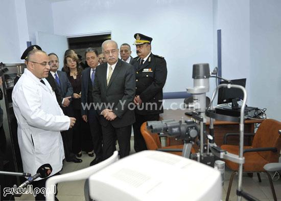 وزارة الداخلية مستشفى الشرطة  اخبار مصر شريف اسماعيل رئيس الوزراء (6)