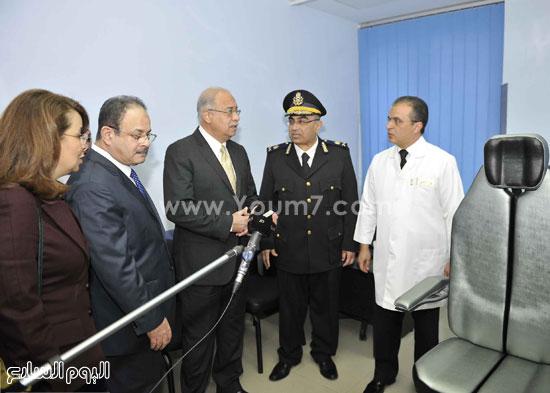 وزارة الداخلية مستشفى الشرطة  اخبار مصر شريف اسماعيل رئيس الوزراء (7)