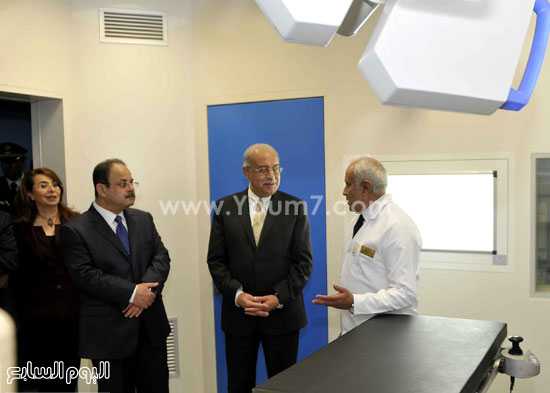 وزارة الداخلية مستشفى الشرطة  اخبار مصر شريف اسماعيل رئيس الوزراء (8)