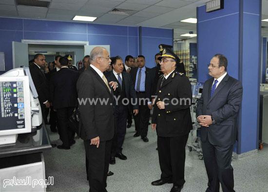 وزارة الداخلية مستشفى الشرطة  اخبار مصر شريف اسماعيل رئيس الوزراء (10)