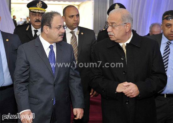 وزارة الداخلية مستشفى الشرطة  اخبار مصر شريف اسماعيل رئيس الوزراء (15)