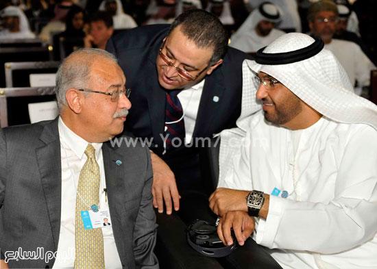 شريف اسماعيل  القمة العالمية للحكومات دبى (6)