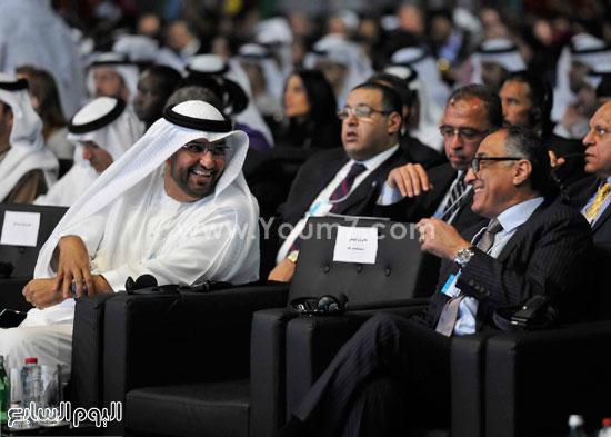 شريف اسماعيل  القمة العالمية للحكومات دبى (8)