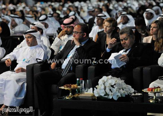 شريف اسماعيل  القمة العالمية للحكومات دبى (9)
