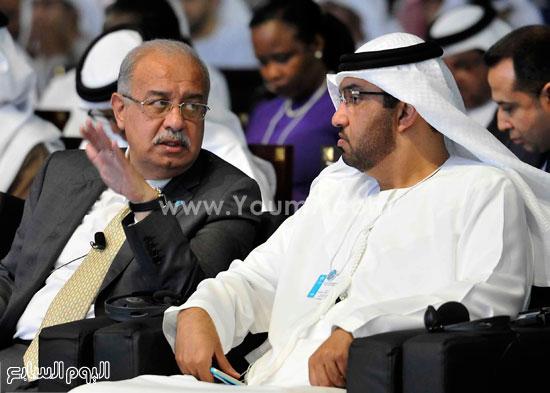 شريف اسماعيل  القمة العالمية للحكومات دبى (10)