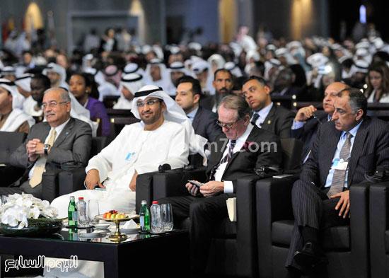 شريف اسماعيل  القمة العالمية للحكومات دبى (11)