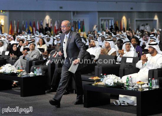 شريف اسماعيل  القمة العالمية للحكومات دبى (12)